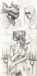 Drink n Draw June 9th 2011 by robthesentinel