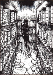 There's something in the chained library... by robthesentinel