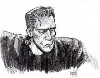 Monster Mondays 012014 Frankenstein's monster by robthesentinel
