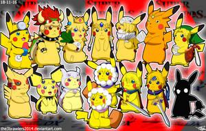 SSBMelee Pikachu Version by The3Brawlers2014