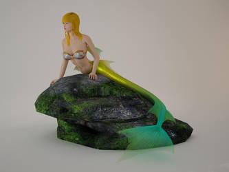 Mermaid by 3dFoin