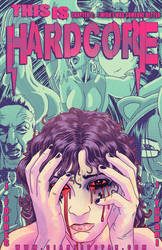 This is Hardcore 2 Cover by giantess-fan-comics