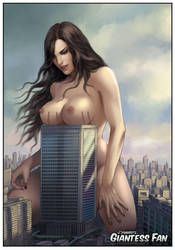 GTS Breasts on Top of Building by giantess-fan-comics