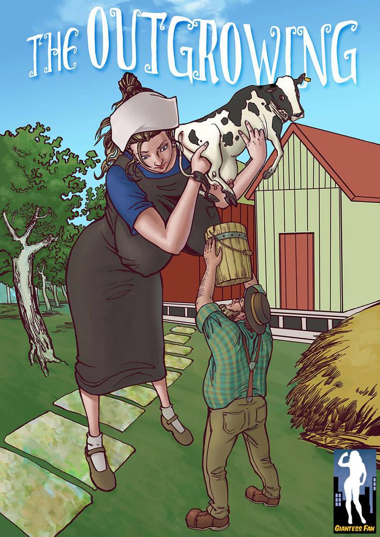 Giantess growth comic