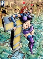 Towering Titan by giantess-fan-comics