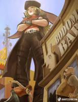 Giantess Nikki Bodom by giantess-fan-comics