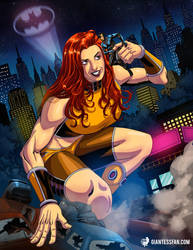 Giganta Comes to Gotham by giantess-fan-comics