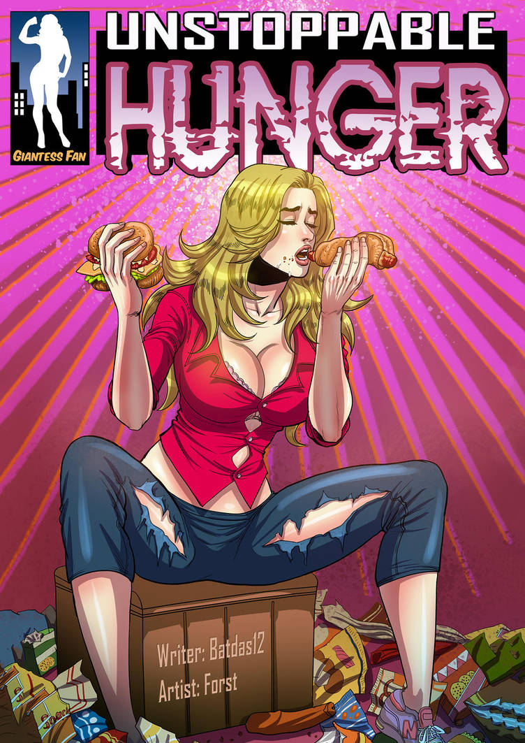 Unstoppable Hunger - Food Of The Goddess By Giantess-Fan -2556
