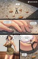 Fiance on Her Fingertip by giantess-fan-comics