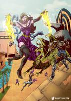 Giantess of Gatewatch by giantess-fan-comics