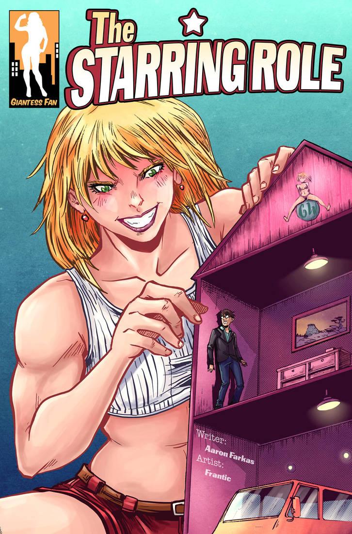 The Starring Role - Shrunken Man on Set by giantess-fan-comics