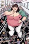 Dinner Date by giantess-fan-comics