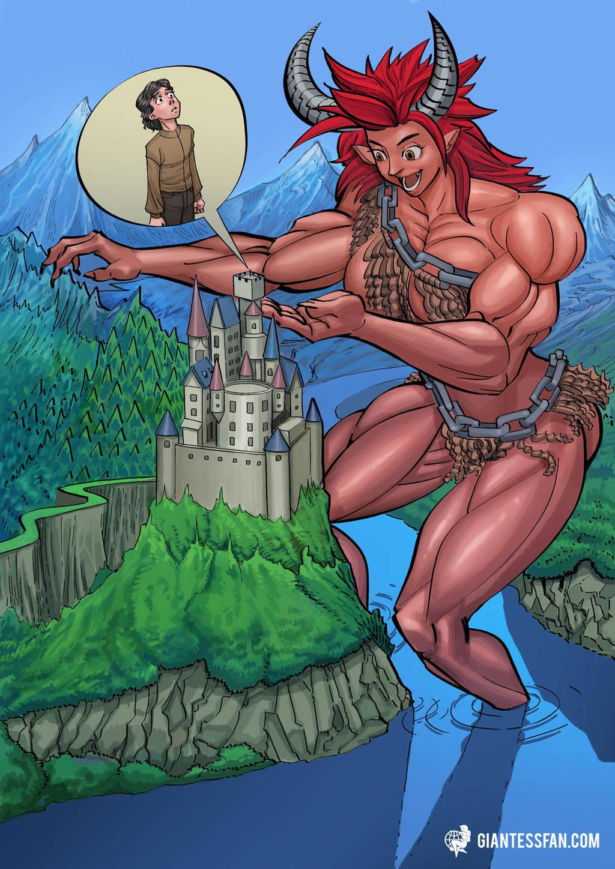 My, How She's Grown by giantess-fan-comics