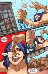 Debbie Does Battle by giantess-fan-comics