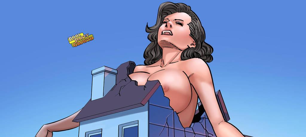Pool-Party-Growth 02-SLIDEa by giantess-fan-comics