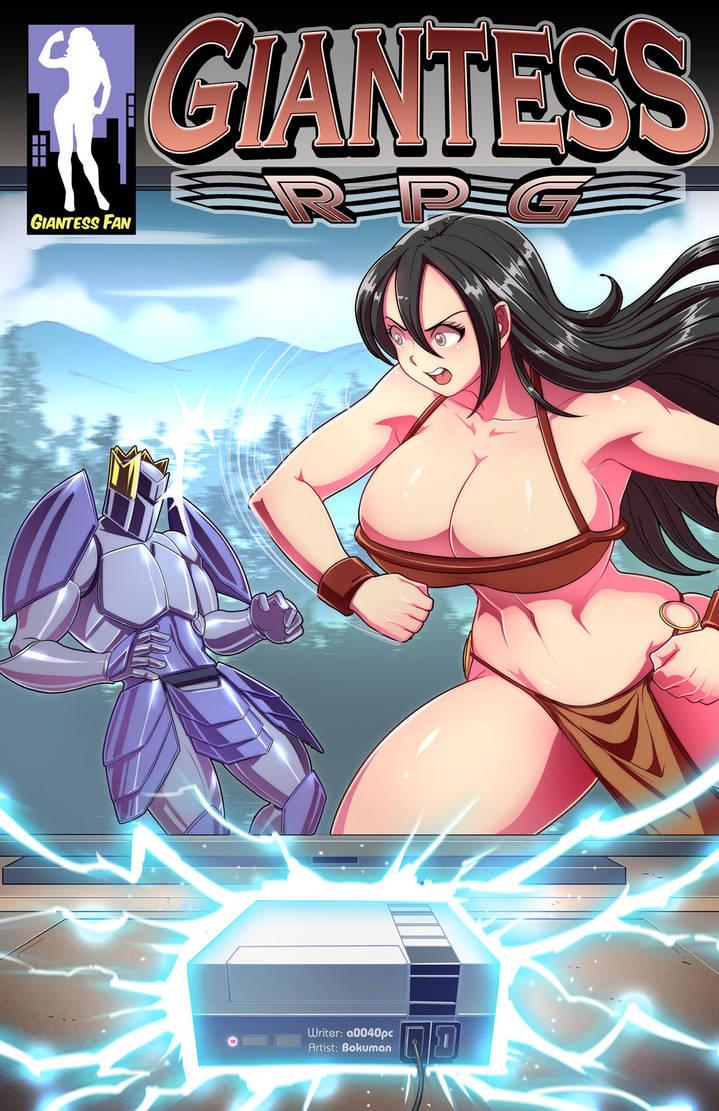Giantess RPG - Blake Levels Up by giantess-fan-comics