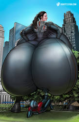 Let's 'Hope' Ant-Man is an Ass Man by giantess-fan-comics