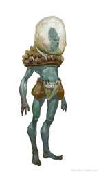 blue alien by sarvnas