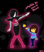 Mettaton Ex makes his Premiere by chikamew
