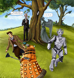 Doctor who: hide and seek! by DameEleusys