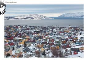 Kirkenes in winter by BottledLights