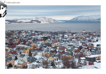 Kirkenes in winter by BottledLights