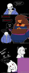 Undertale : Sin Time by Geeflakes-art