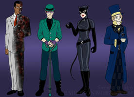Gotham Rogues - Batman Redesigns #2 by sarahn