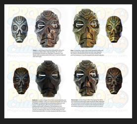 Dragon Priest Masks Skyrim by Jay-Michael-Lee