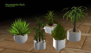 Houseplants for XPS by RonDoe
