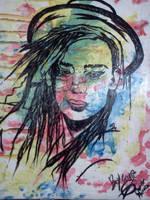 boy george pop art! by RESIDENTEVILNEJI89