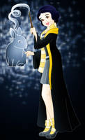 Disney Hogwarts students: Snow White by Willemijn1991
