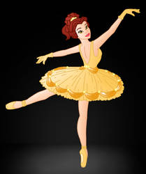 Disney Ballerina's: Belle by Willemijn1991