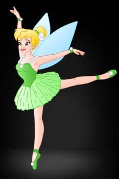 Disney Ballerina's: Tinkerbell by Willemijn1991