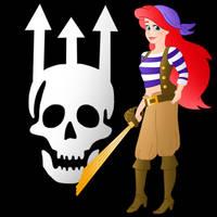 Disney Pirate: Ariel by Willemijn1991