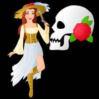 Disney Pirate: Belle by Willemijn1991