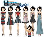 My life as a Teenage Robot fashion: Tuck by Willemijn1991