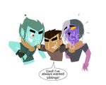 DP NG: Interdimensional Siblings by KaiThunder