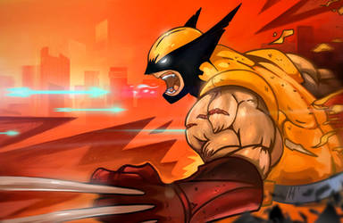 Wolverine fan art by spatss