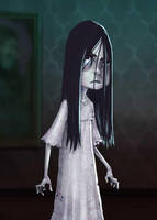 Ghostel: Sadako by Sketch-Geek