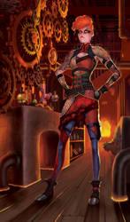 Ainfean: Master of Flames by Sketch-Geek