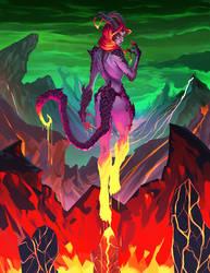 Efrit: Djinn of Power by Sketch-Geek