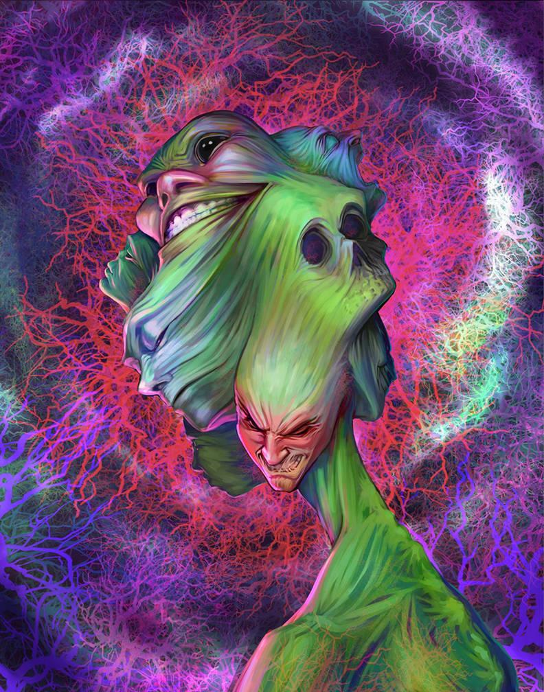 Gnarled Shapeshifter by Sketch-Geek