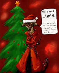 Merry Freakin' Christmas by hokuto