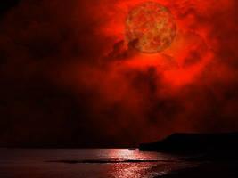 Blood Moon by hurricanekerrie