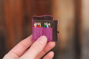 1/6 scale Case with Pencils by striped-box
