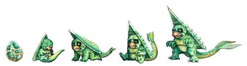 Strange beings #23 - Marsh Babies by highondopamine
