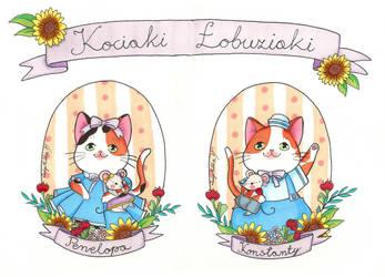 Kociaki Lobuziaki by LadyMilka