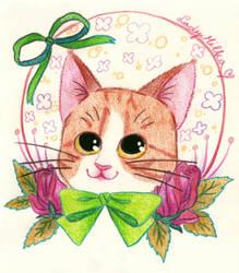 My cute kitty by LadyMilka