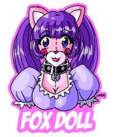 Fox Demon Doll by Lorddragonmaster